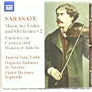 Sarasate: Works For Violin and Orchestra Vol. 2