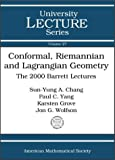 img - for Conformal, Riemannian and Lagrangian Geometry book / textbook / text book
