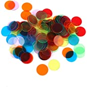 Generic 120pcs PRO Count Bingo Chips Markers For Bingo Game Cards 3cm 6 Colors