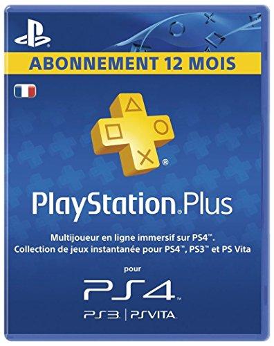 Playstation Plus LiveCards – Abonnement 12 mois
