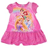 Disney Princess Ariel, Cinderella, Belle, Rapunzel Toddler Gown for girls