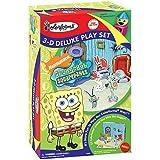 Colorforms 3D Deluxe Play Set Spongebob Squarepants