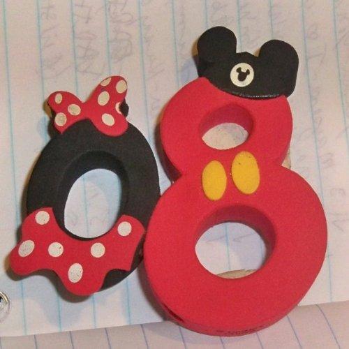 Disney Mickey Minnie 08 Antenna Topper