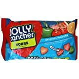Jolly Rancher Sours Soft & Chewy Candy, 10-Ounce (Pack of 2)
