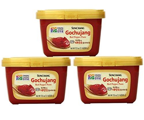 Sunchang Gochujang 500g (3 Pack) (Korean Chili Seasoning compare prices)