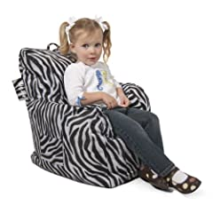 Big Joe Cuddle Chair in SmartMax - Zebra