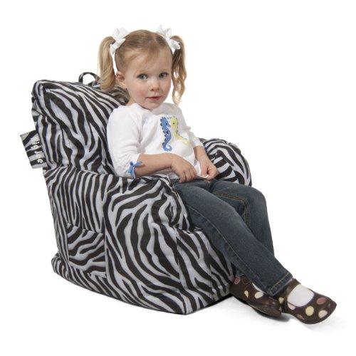 Big Joe Cuddle Chair, Zebra front-668187