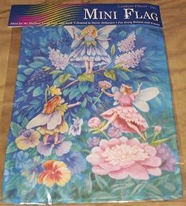 Mini Decorative Garden Flag Fairies