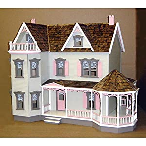Real Good Toys Real Good Toys Glenwood Dollhouse Kit - 1 Inch Scale, Brown, Plywood