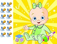 Pin the Pacifier on the Baby Gender Neutral Shower Game Party Accessory Unisex