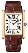 Cartier Tank Louis Manual Wind 18k Rose Gold Mens Watch W1560017