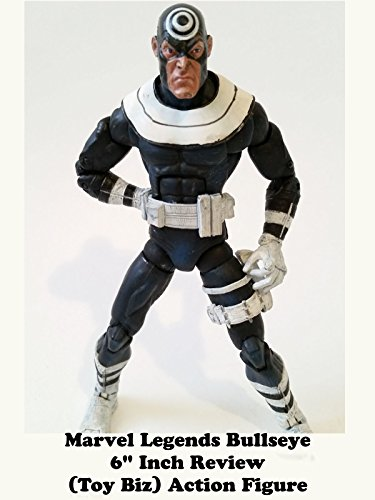 "Marvel Legends BULLSEYE 6"" inch Review Toy Biz action figure"