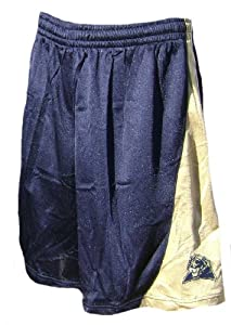 Adidas Pittsburgh Panthers 2008 09 Blue 10? Inseam Screen-Printed Replica Basketball... by adidas