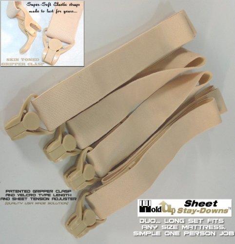 Find Cheap Crisscross Sheet Suspender Stay-downs