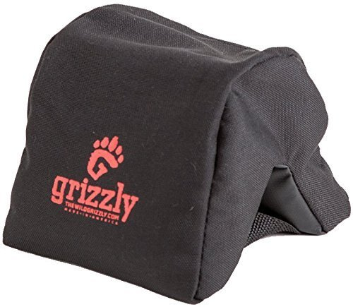 Grizzly Camera Bean Bag (Medium-Black), Photography Bean Bag, Video Bean Bag, Camera Support, Camera Sandbag, Camera Beanbag, Spotting Scope Support