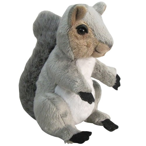 Nic Nac Plush Squirrel 7""