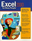 img - for Excel 2000 for Busy People book / textbook / text book
