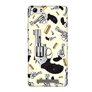 FASHEEN Premium Designer Soft Case Back Cover for Gionee M5 Lite