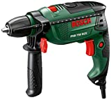 Bosch Psb 750 Rce 750 W Hammer Drill With Case And 15-Piece X-Line Set