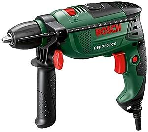 Bosch PSB 750 RCE 1GangSchlagbohrmaschine 750 W + Koffer, + Zubehör, 0 603 128 502  BaumarktKundenbewertung: