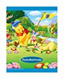 [Black mount] FUJICOLOR album free Disney character F-10B and golf (BK) Poussin 11-20 page character Blue 16862 (japan import)