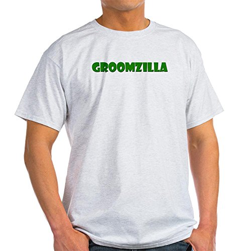 CafePress groomzilla T-Shirt Light T-Shirt – L Ash Grey
