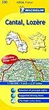Michelin-Map-France-Cantal-Lozre-330-Michelin-Local-Maps