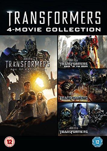 Transformers 1-4 Box Set [DVD]
