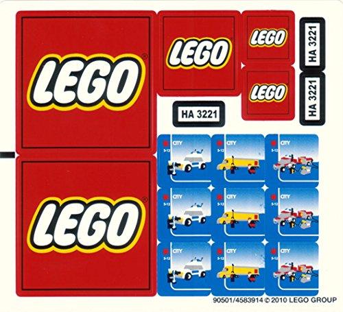 Genuine Original Replacement Sticker Sheet Set For Lego City 3221