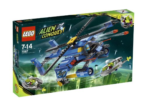 LEGO Alien Conquest 7067: Jet-Copter Encounter