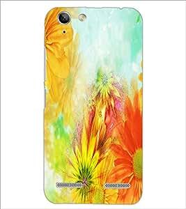 PrintDhaba Painting D-3956 Back Case Cover for LENOVO VIBE K5 (Multi-Coloured)