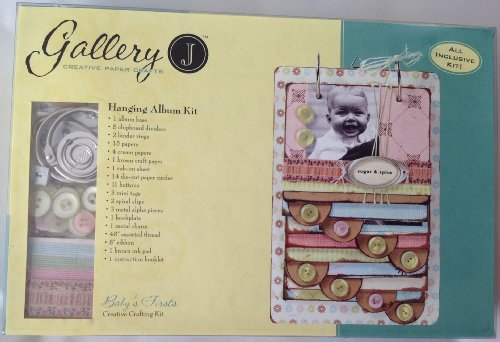Baby's Firsts: Hanging Photograph / Scrapbook Album Kit - 1