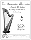img - for The Harmonious Blacksmith- Air With Variations For Pedal Harp book / textbook / text book