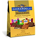Ghirardelli Chocolate Squares, Premium Assortment, 20.72-Ounce Bag