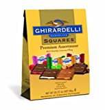 Ghirardelli Chocolate Squares, Premium Assortment, 20.72-Ounce Bag