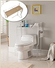 Kings Brand Etagere Freestanding Bath…