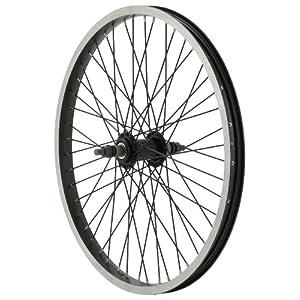 Diamondback 48H Alec C 303 Rim BMX 20 Inch x 1.75 Inch Black/Black Wheel (Front)