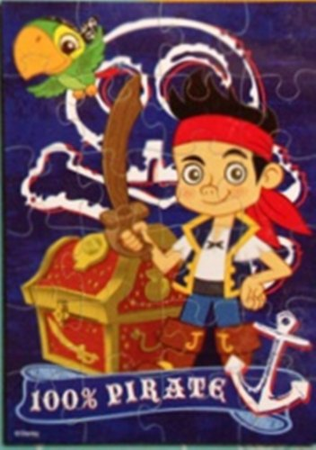 Disney Jake and the Neverland Pirates ~ Tiny Travel Puzzle Tin ~ 24 pieces - 1