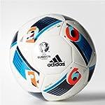 adidas Herren Ball EURO 2016 Mini, Wh...
