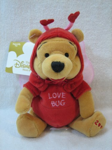 Disneys Mini Bean Bag ~ Firefly Pooh 2000 - 1