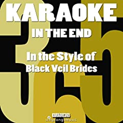 In the End (In the Style of Black Veil Brides) [Karaoke Version]