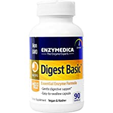 buy Enzymedica - Digest Basic, Essential Digestive Enzymes, 90 Capsules