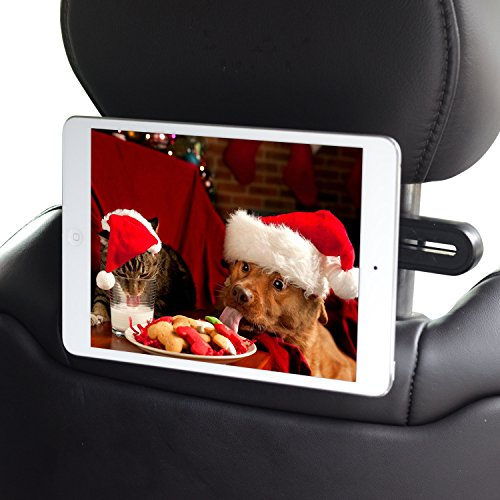 APPS2Car Magnetic Headrest Mount Universal Car Back Seat Tablet Holder For iPad Mini 4 3 2 1, Samsung Galaxy Tab A 8