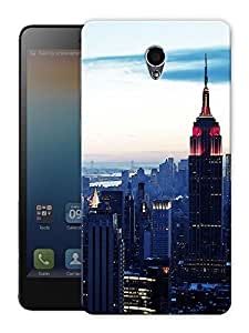 "Empire State Building Printed Designer Mobile Back Cover For ""Lenovo S860"" By Humor Gang (3D, Matte Finish, Premium Quality, Protective Snap On Slim Hard Phone Case, Multi Color)"