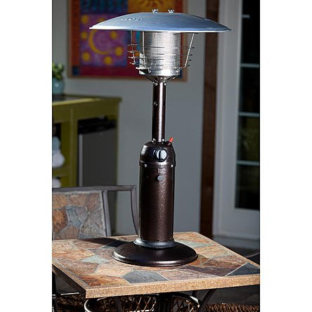Modern Durable Table Top Patio Heater | Contemporary Home Space Heater to any Outdoor Table Top Setting by the Porch or Gazebo (Outdoor Heater Tower compare prices)