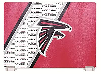 NFL Atlanta Falcons Glass Cutting Board
