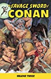 The Savage Sword of Conan Volume 3