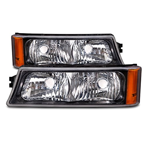 Chevy CK Truck/Silverado Park Signal Lights OE Style Replacement Driver/Passe... (2002 Avalanche Headlight Assembly compare prices)