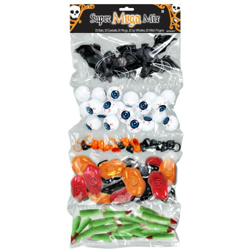 Halloween Plastic Super Mega Mix Favors