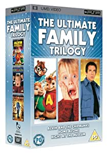 Ultimate Family UMD Trilogy - Home Alone/Night At The Museum/Alvin And The Chipmunks [1990]